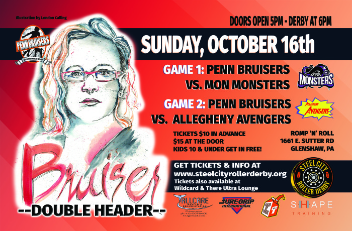October 16 Battle of the Burgh flyer