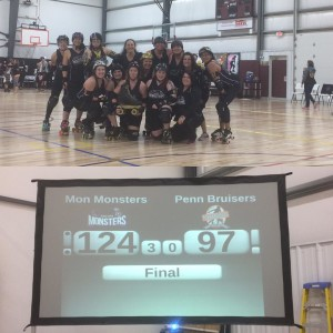 Monsters beat beamers 124-97 for 2017 Battle of the Burgh championship