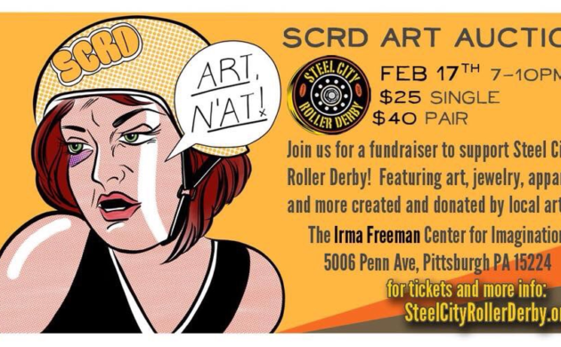 Steel City Roller Derby Art Auction